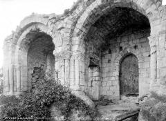 Chapelle Saint-Macé - Façade nord : cloître attenant à la chapelle