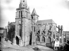 Ancienne cathédrale Saint-Tugdual et cloître - Ensemble sud-est