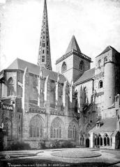 Ancienne cathédrale Saint-Tugdual et cloître - Abside, côté nord