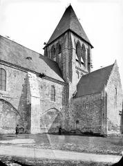 Eglise Saint-Martin£ - Façade sud : transept et clocher