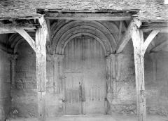 Eglise Saint-Martin£ - Portail de la façade ouest