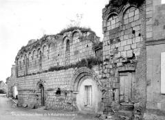 Ruines de l'ancienne maladrerie Sainte-Catherine - Façade