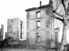 Château - Pavillon nord-ouest et donjon