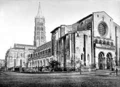 Eglise Saint-Sernin - Ensemble nord-ouest