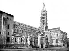 Eglise Saint-Sernin - Façade sud