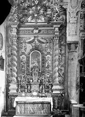 Eglise Saint-Veran - Retable