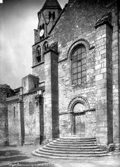Eglise Saint-Pierre - Façade sud : portail