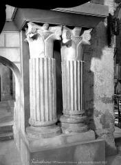 Eglise Saint-Just - Colonnes du choeur