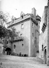 Doyenné (ancien logis abbatial dit château) - Ensemble sud-est