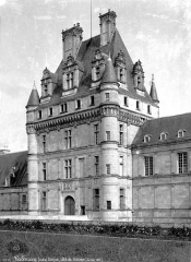 Domaine du château de Valençay - Façade du côté de l'entrée