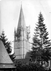 Eglise Notre-Dame - Clocher, côté nord-ouest