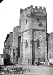 Eglise Saint-Pierre et Saint-Phébade - Abside, côté sud-est