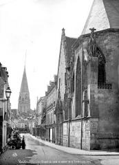 Ancienne abbaye de la Trinité - Clocher et chapelle du lycée
