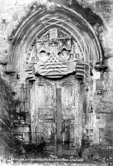 Commanderie - Chapelle : Portail de la façade ouest