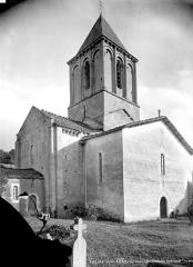 Eglise Saint-Maixent de Verrines - Ensemble nord-ouest