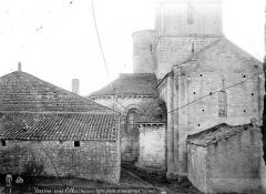 Eglise Saint-Maixent de Verrines - Façade nord : Abside et transept