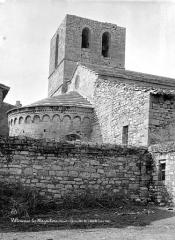 Eglise Saint-Etienne - Abside, côté nord