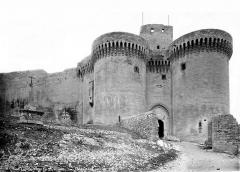 Fort Saint-André (ancien château) - Porte d'entrée et tours jumelées
