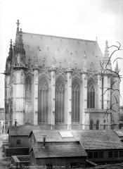 Château de Vincennes et ses abords - Chapelle : façade sud