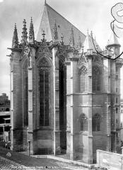 Château de Vincennes et ses abords - Chapelle et salle du trésor