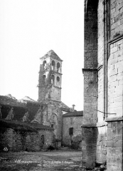 Ancienne église Saint-Grégoire, actuellement entrepôt municipal - Clocher