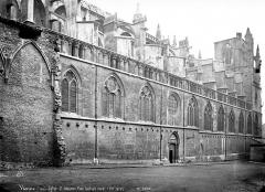 Eglise Saint-Maurice, anciennement cathédrale - Façade nord