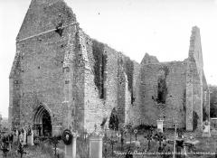 Chapelle Saint-Lubin à Yèvre-le-Châtel - Ensemble sud-ouest