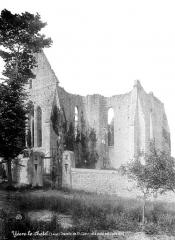 Chapelle Saint-Lubin à Yèvre-le-Châtel - Ensemble nord-est