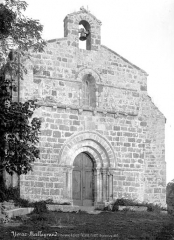 Ancienne commanderie de templiers Saint-Jean-Baptiste de Malleyrand - Façade ouest