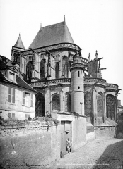 Eglise Saint-Antoine - Abside, côté sud-est