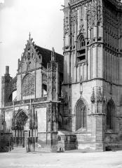 Eglise Saint-Martin (ancienne collégiale) - Façade ouest