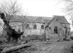 Eglise du cimetière (église Saint-Léger du Vieux-Bourg) - Ensemble sud