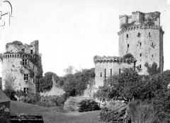 Ancienne forteresse ou ancien château de Largouët - Ensemble ouest