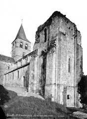 Ancien prieuré de Graville ou ancienne abbaye de Sainte-Honorine - Ensemble nord-ouest : tour et clocher