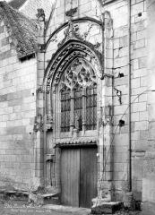 Eglise paroissiale Saint-Maurice - Portail de la façade nord