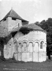 Eglise Saint-Denis - Abside, côté sud-est