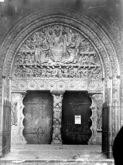 Ancienne abbaye de Moissac - Portail de la façade ouest