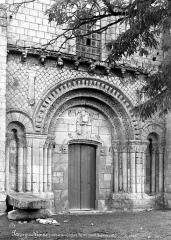 Eglise paroissiale Saint-Pierre - Portail de la façade ouest