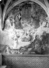 Château et ses abords - Peintures murales de la chapelle
