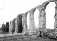 Vestiges de l'aqueduc romain - Vue d'ensemble