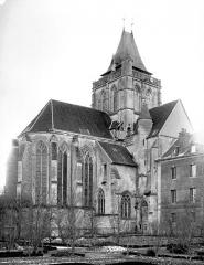 Ancienne abbaye Saint-Taurin - Angle nord-est