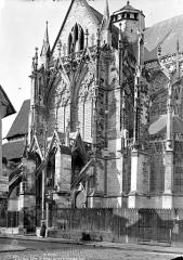 Eglise Saint-Urbain - Façade sud : Transept