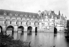Domaine de Chenonceau - Façade sur le Cher, côté est