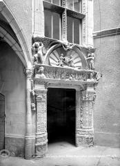 Maison Dupré-Latour - Porte de l'escalier