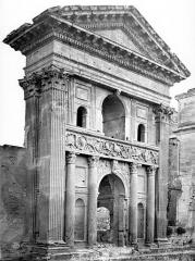 Château - Grand portail, côté sud-ouest