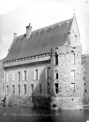 Château - Façade de la grande salle