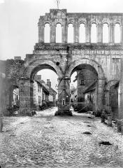 Porte d'Arroux - Côté de la ville