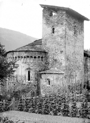 Basilique Saint-Martin - Angle nord-est : Abside et clocher
