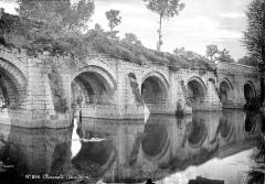 Pont du Vernay - Arcades, côté aval