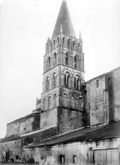Ancienne église paroissiale Saint-Nicolas - Façade nord : Clocher